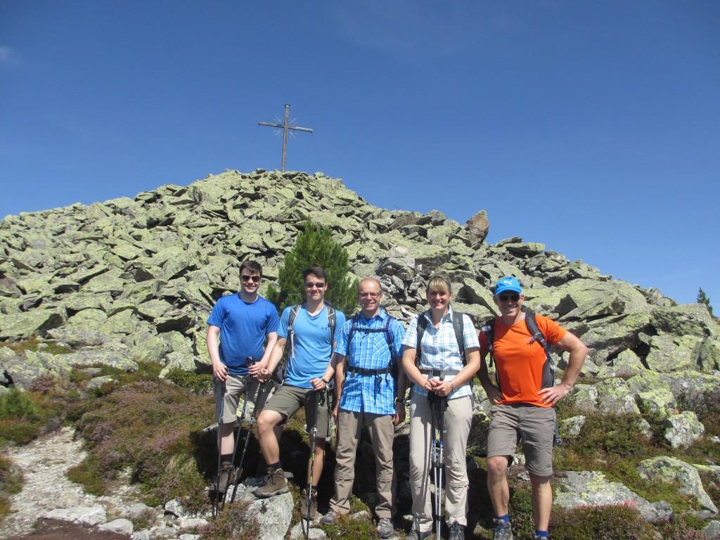 Wanderung zum Hamberg mit unseren Gästen